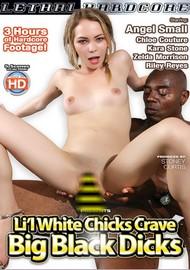 Li'l White Chicks Crave Big Black Dicks