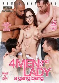 4 Men And A Lady - A Gangbang